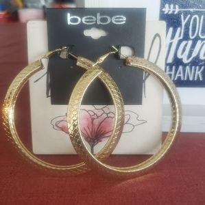 Bebe Gold Earrings